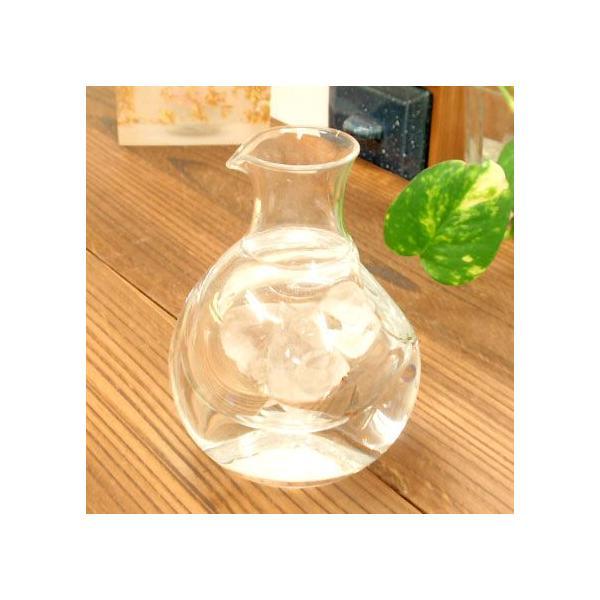 グラス ガラス 冷酒用 ポケットカラフェ 小 冷酒 徳利 sara-cera-y