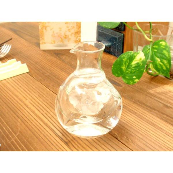 グラス ガラス 冷酒用 ポケットカラフェ 小 冷酒 徳利 sara-cera-y 03