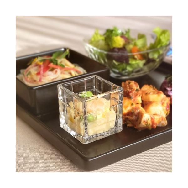 12/20までSALE!★ガラス食器 アミューズグラスキューブ No.50 カフェ オシャレ〔お取り寄せ商品〕|sara-cera-y