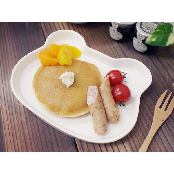 21日までSALE価格!洋食器 くまちゃんプレート アウトレット強化キッズ スナックカフェランチ ベアプレート 洋食器|sara-cera-y