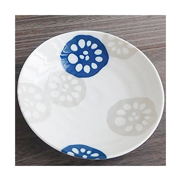 【SALE!7/28まで】和食器  れんこん 小皿  おしゃれ モダン 取り皿 菓子皿 銘々皿 〔お取り寄せ商品〕