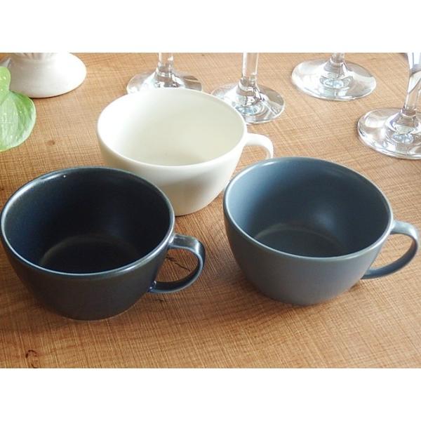 (欠品中 2月中旬頃入荷予定)ナチュラルカフェ Cafeキッチン 洋食器 和食器 スープカップ 片手マグカップ インディゴ|sara-cera-y|05