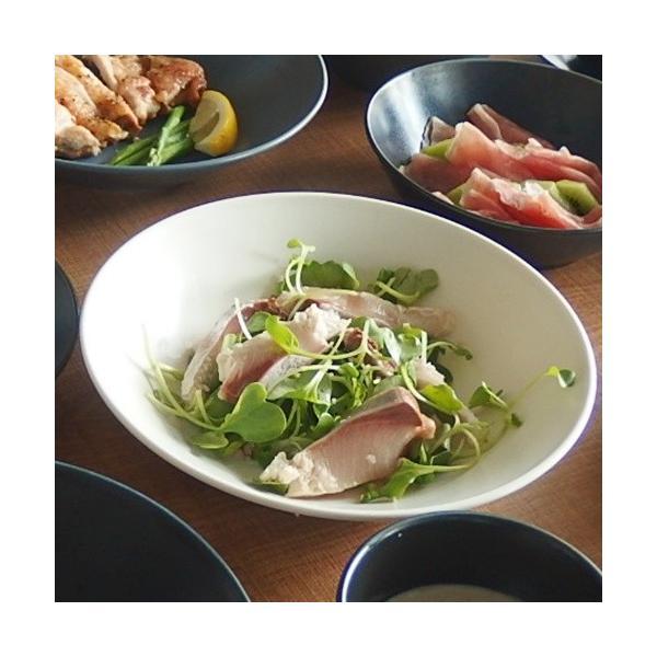 4/16までSALE価格!ナチュラルカフェ Cafeキッチン 洋食器 和食器 パスタプレート 22cm プレーン|sara-cera-y