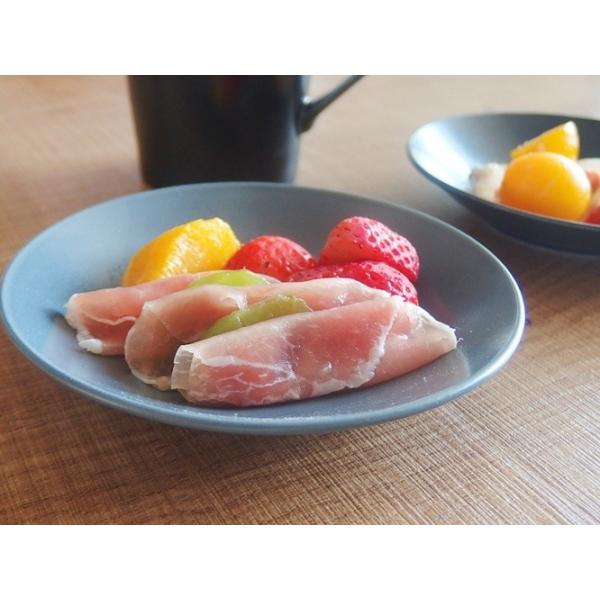 2/29までの価格!ナチュラルカフェ Cafeキッチン 洋食器 和食器 ブレッドプレート 13.5cm フォグ|sara-cera-y|03