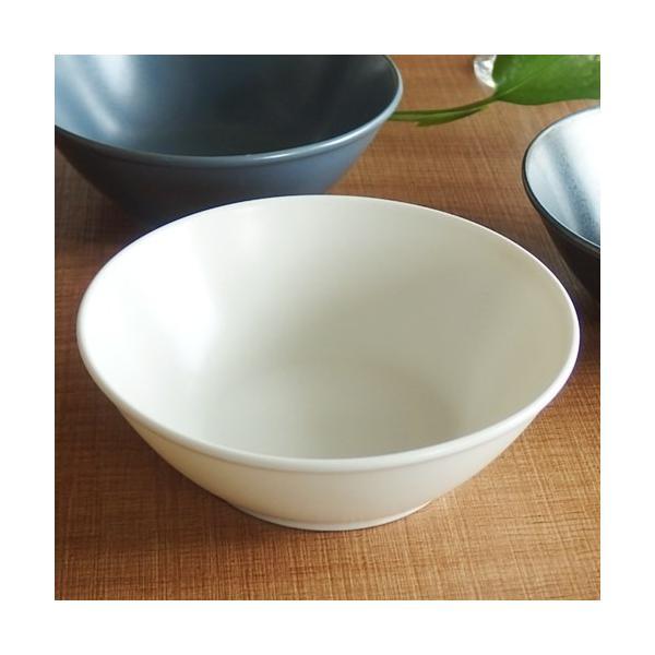 ナチュラルカフェ Cafeキッチン 洋食器 和食器 サラダボウル 14.5cm プレーン|sara-cera-y