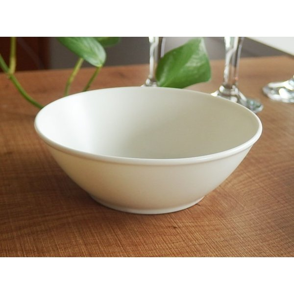 ナチュラルカフェ Cafeキッチン 洋食器 和食器 サラダボウル 14.5cm プレーン|sara-cera-y|02