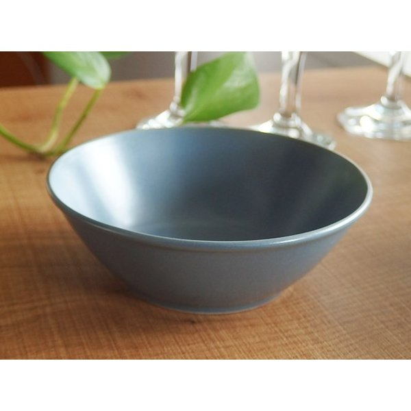 ナチュラルカフェ Cafeキッチン 洋食器 和食器 サラダボウル 14.5cm フォグ|sara-cera-y|02