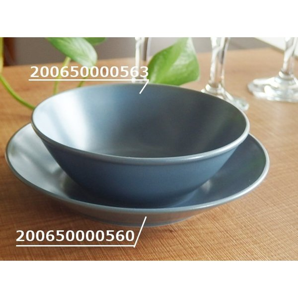 ナチュラルカフェ Cafeキッチン 洋食器 和食器 サラダボウル 14.5cm フォグ|sara-cera-y|03