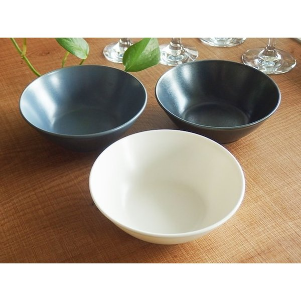 ナチュラルカフェ Cafeキッチン 洋食器 和食器 サラダボウル 14.5cm フォグ|sara-cera-y|04