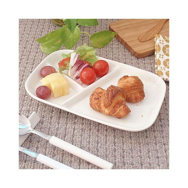 (欠品中 11月上旬頃入荷予定)和食器 仕切ランチプレート 粉引き仕切りランチプレート 洋食器 和食器 日本製 200670000152 sara-cera-y 04