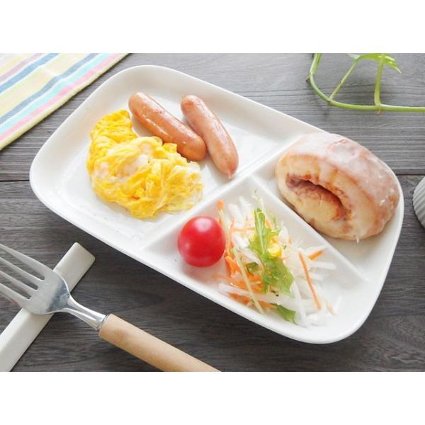 (欠品中 11月上旬頃入荷予定)和食器 仕切ランチプレート 粉引き仕切りランチプレート 洋食器 和食器 日本製 200670000152 sara-cera-y 05