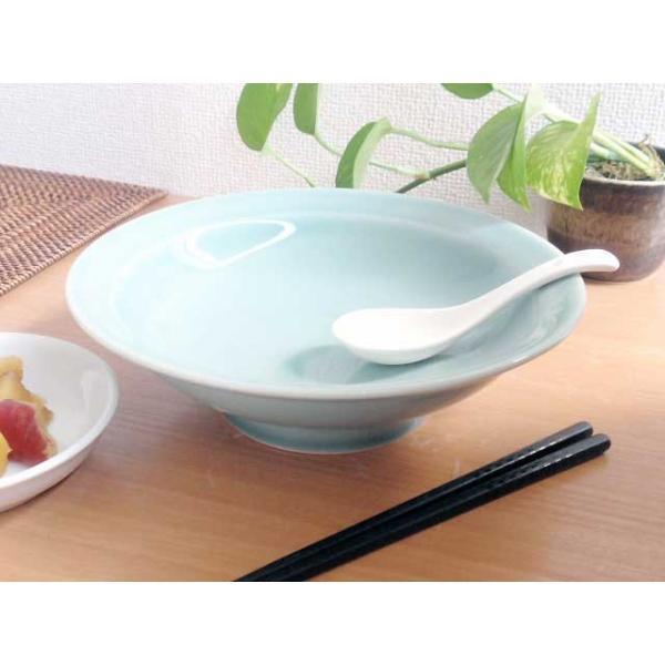 (欠品中 11月上旬頃入荷予定)中華大好き 野菜たっぷり中華丼 青磁 どんぶり|sara-cera-y|02