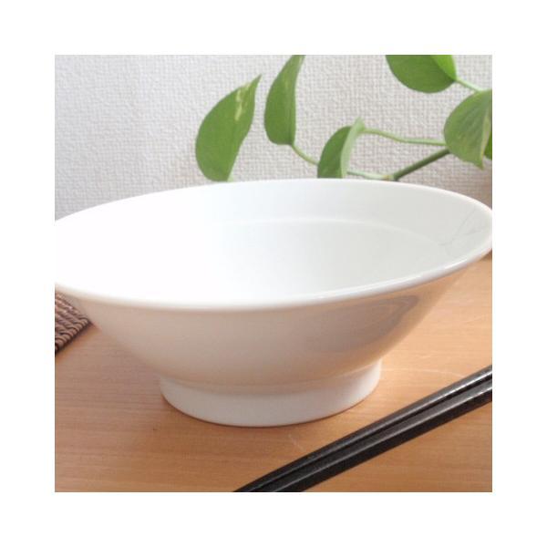 中華大好き シャキシャキ野菜ラーメン丼 白磁 |sara-cera-y