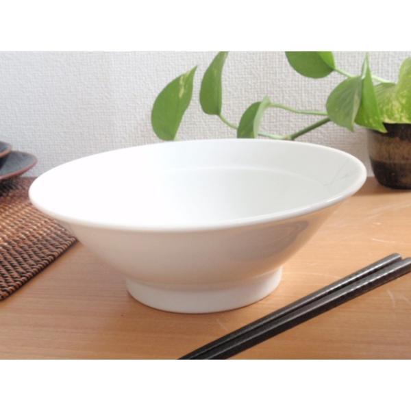 中華大好き シャキシャキ野菜ラーメン丼 白磁 |sara-cera-y|02