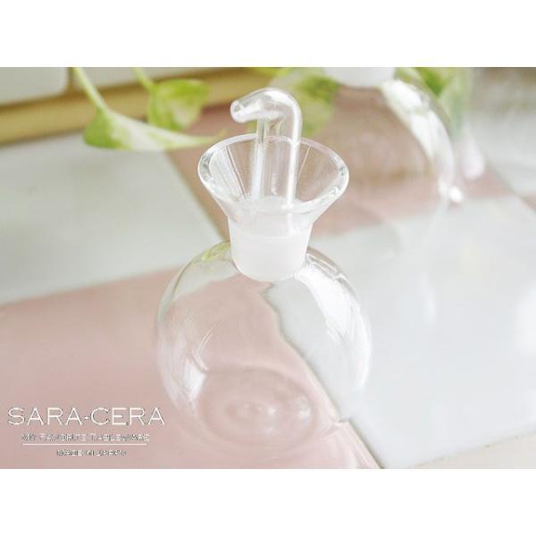 ガラス 耐熱ガラス ソースボトル S|sara-cera-y|02