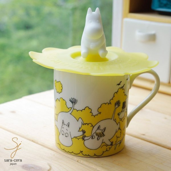 RoomClip商品情報 - ムーミン カップカバー付マグカップ(ムーミン) 専用箱入り