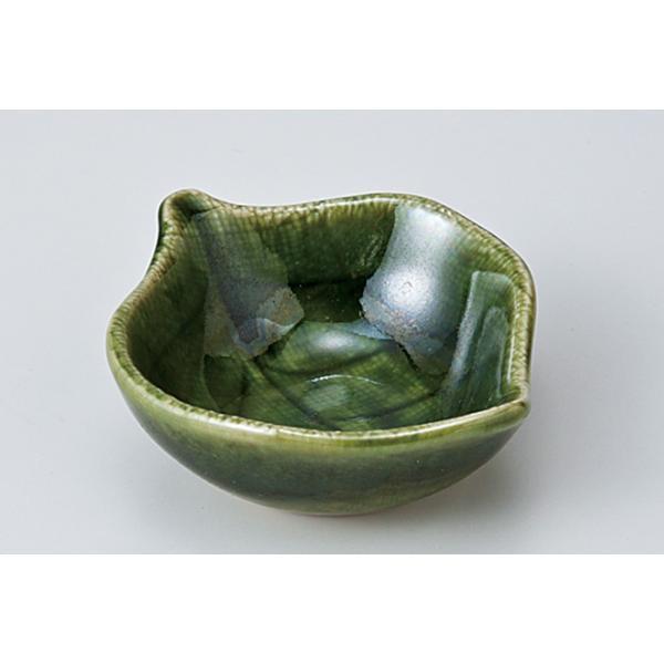 和食器 ちょこっと 木の葉小鉢 織部グリーン 豆鉢 ミニ プチ 小さな うつわ ボウル カフェ おしゃれ おうち 陶器 日本製|sara-cera|02