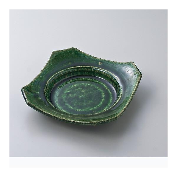 和食器 松助窯織部 角向付 中鉢 ボウル おうち ごはん うつわ 陶器 カフェ 日本製 おしゃれ 煮物 サラダ sara-cera
