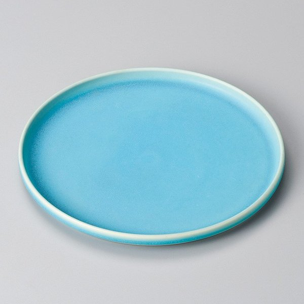 和食器 青澄 盆皿 26×2cm プレート うつわ おさら おうち 陶器 カフェ おしゃれ 軽井沢 春日井