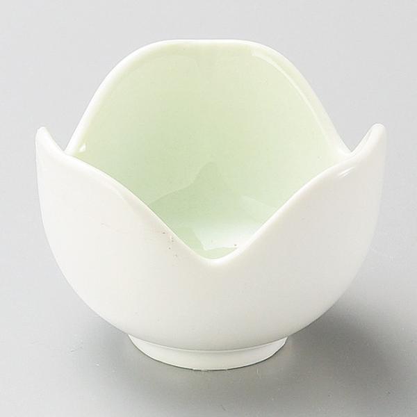 和食器 小さなグリーン 緑吹割山椒 小鉢 6.3×4.3cm うつわ 陶器 おしゃれ おうち