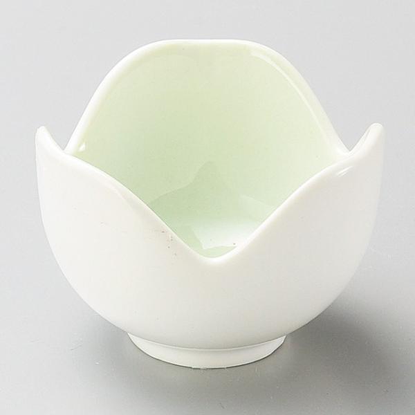 和食器 小さなグリーン 緑吹割山椒 小鉢 5.5×3.5cm うつわ 陶器 おしゃれ おうち