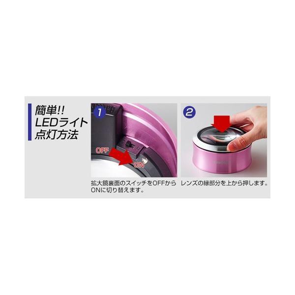 スリーアールソリューション LED拡大鏡smoliaXC 3R-SMOLIA-XCGY