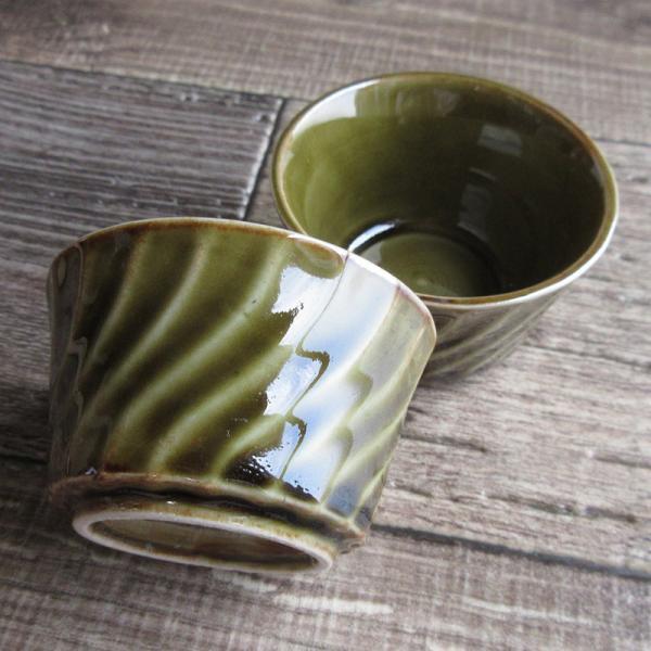 織部ねじりミニカップ