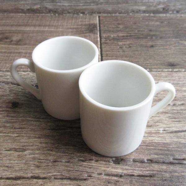 白い食器 小さなデミコーヒーカップ