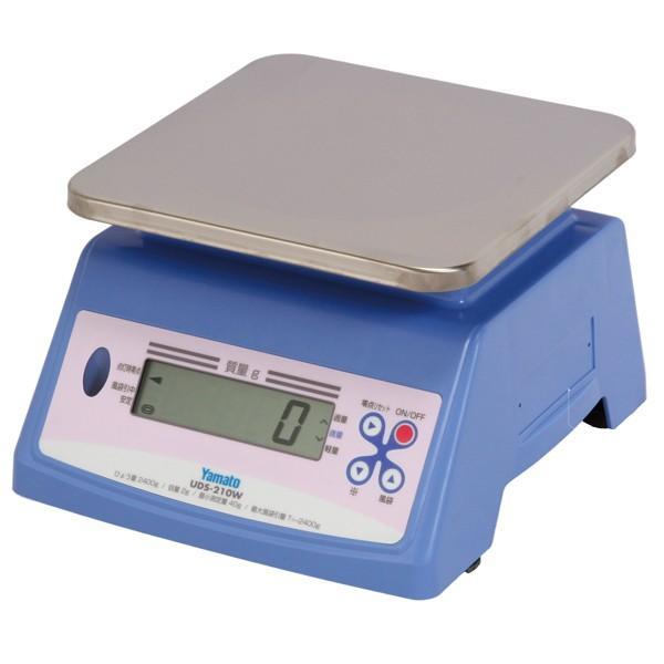 (業務用・デジタル)デジタル上皿はかり UDS-210W 20kgヤマト(防水型)(入数:1)
