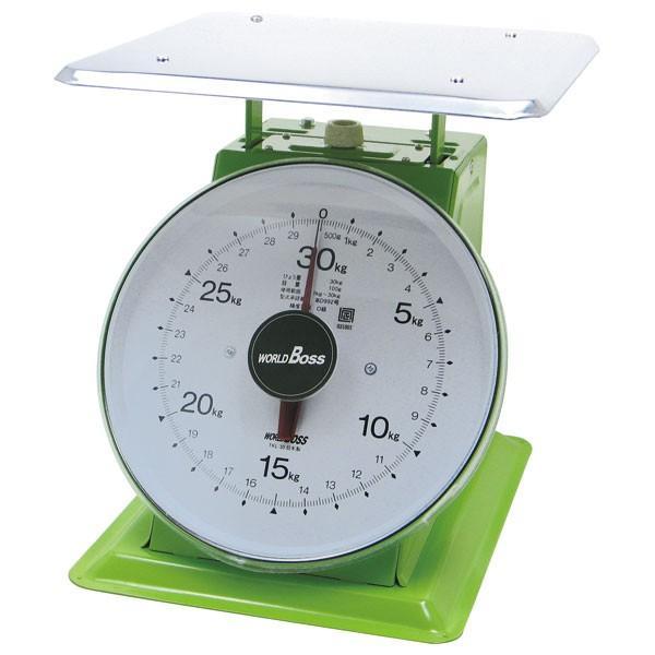 (業務用・上皿はかり)大型上皿自動秤 TKL-30 30kgワールドボスフレッシュ(入数:1)
