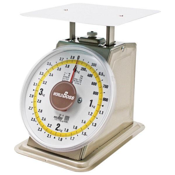 (業務用・上皿はかり)並型上皿自動秤 MYM-8 8kgワールドボス(入数:1)