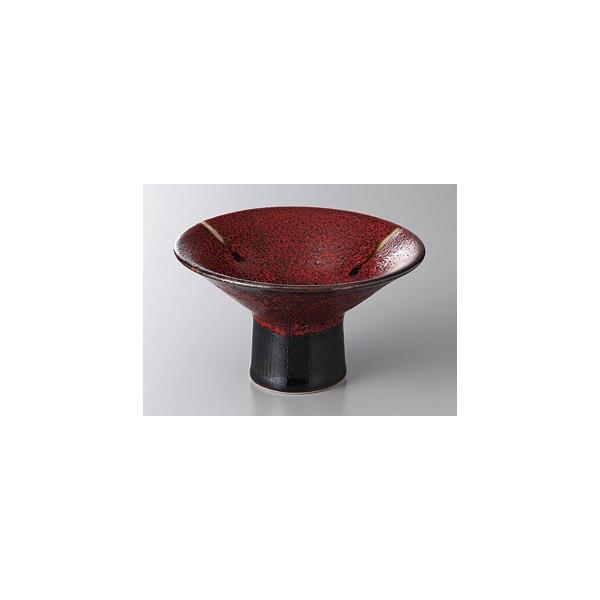 (業務用・小鉢)紅柚子天目4.4高台小鉢(入数:5)