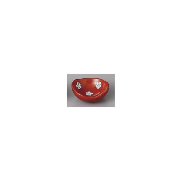 (業務用・珍味)梅小紋楕円豆皿(R)(入数:5)
