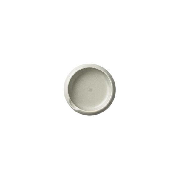(業務用・丸皿)マカロン小皿パステルグレー(入数:5)