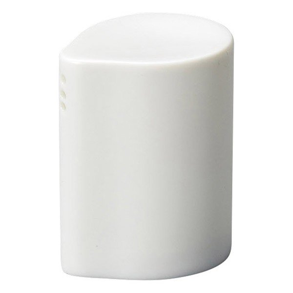 (業務用・塩・胡椒入れ)白磁三穴[37755-258](入数:1)