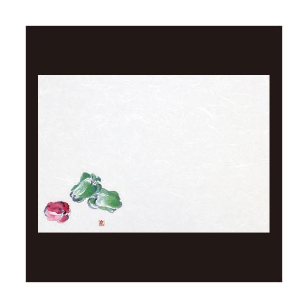 (業務用・マット)尺3寸長手和紙敷マット(100枚単位)ピーマン(6月〜9月)(入数:5)
