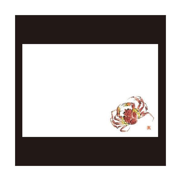 (業務用・マット)尺3寸長手テーブルマット(100枚単位) ズワイガニ(12月~2月)(入数:5)