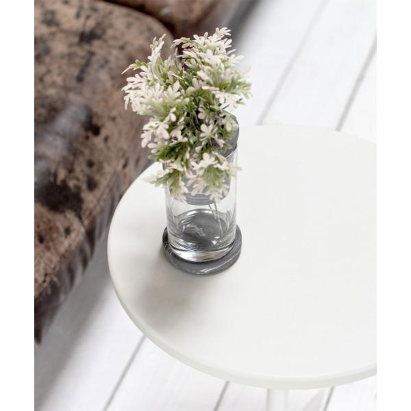 ベッドサイドテーブル テーブル 白 ホワイト[b2c サイドテーブル ラウンド ]#SALE_FA #SALE_FA sarasa-designstore 02