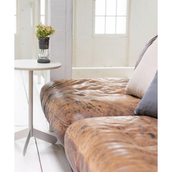 ベッドサイドテーブル テーブル 白 ホワイト[b2c サイドテーブル ラウンド ]#SALE_FA #SALE_FA sarasa-designstore 04