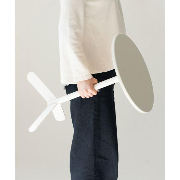 ベッドサイドテーブル テーブル 白 ホワイト[b2c サイドテーブル ラウンド ]#SALE_FA #SALE_FA sarasa-designstore 05