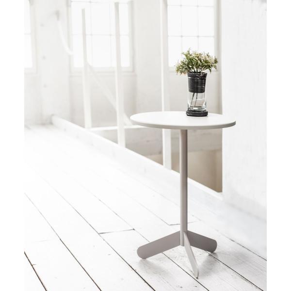 ベッドサイドテーブル テーブル 白 ホワイト[b2c サイドテーブル ラウンド ]#SALE_FA #SALE_FA sarasa-designstore 06