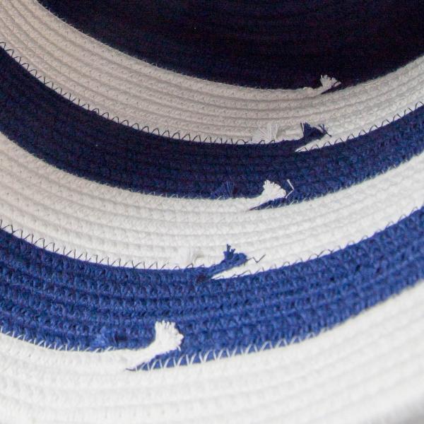洗濯かご 小物入れ まとめ買い[セット販売●b2c ツートンコットンロープバスケット(ツートン/上ホワイト&下ネイビー)【SML各1個計3個】] sarasa-designstore 07