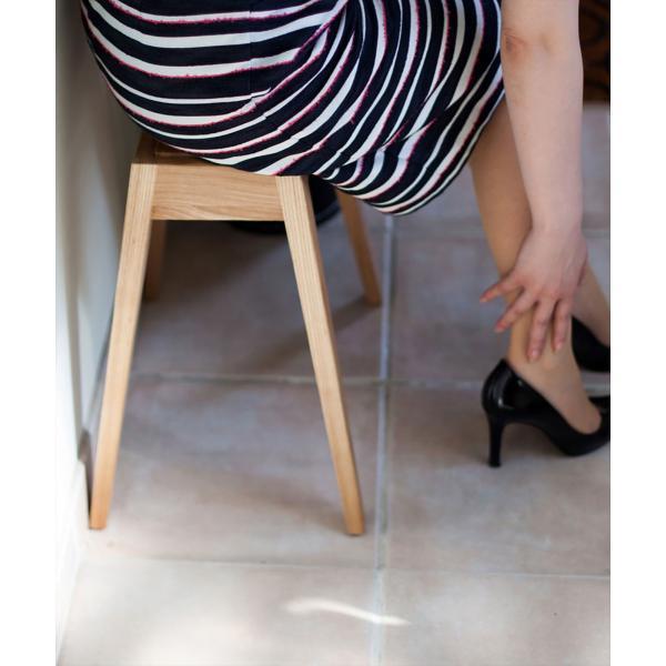 スツール 木製/b2cスタッキング・スツール(オーク)|sarasa-designstore|03