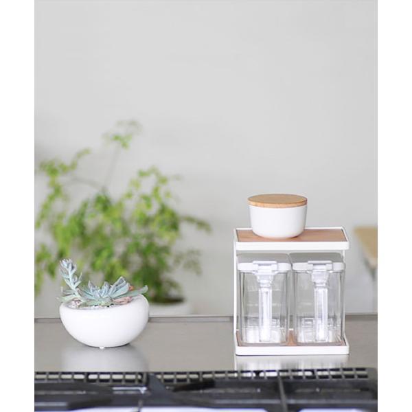 調味料入れ 容器 砂糖/塩 スパイスコンテナ|sarasa-designstore|06