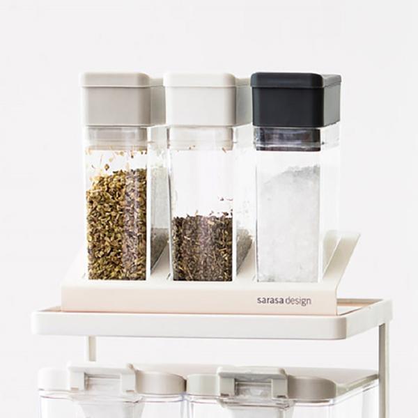 調味料入れ スパイスボトル(1ホール・6ホール) sarasa-designstore