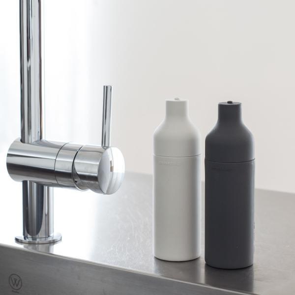 洗剤ボトル ソープボトル ソープディスペンサー 詰め替え シンク キッチン 収納 [b2c スクィーズボトル]|sarasa-designstore