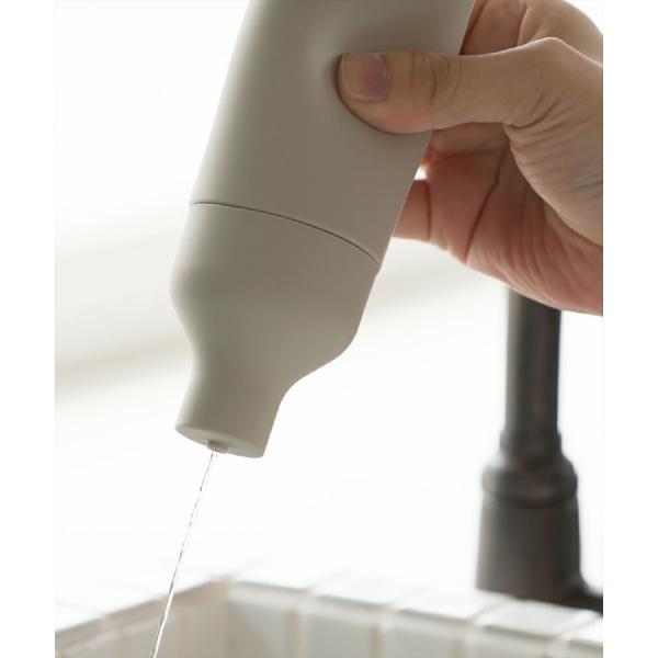 洗剤ボトル ソープボトル ソープディスペンサー 詰め替え シンク キッチン 収納 [b2c スクィーズボトル]|sarasa-designstore|04
