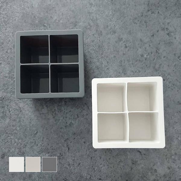 製氷皿 アイストレー 氷 大 シリコン オーブン 型[b2c シリコン アイスキューブトレイ L]