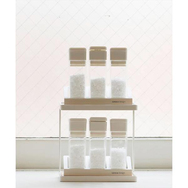 調味料ラック スパイスラック/ミニ(スパイスコンテナ別売り)|sarasa-designstore|05