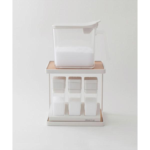 調味料ラック スパイスラック/ミニ(スパイスコンテナ別売り)|sarasa-designstore|06